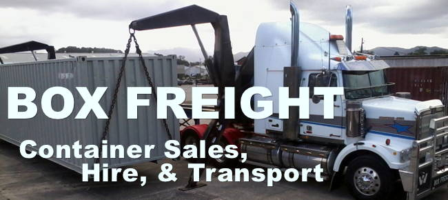 Box Freight Container Sales and General Transport